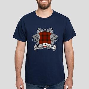 MacIver Tartan Shield Dark T-Shirt