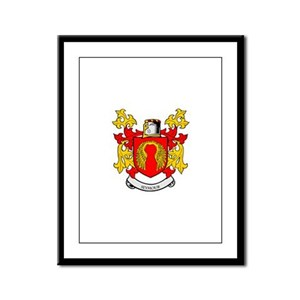 SEYMOUR Coat of Arms Framed Panel Print