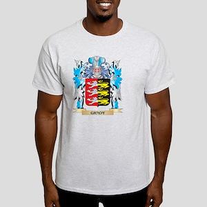 Grady Coat of Arms - Family Crest Light T-Shirt