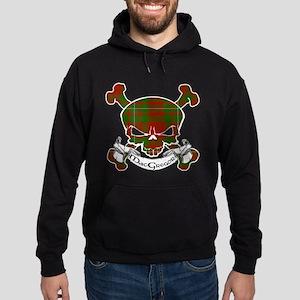 MacGregor Tartan Skull Hoodie (dark)