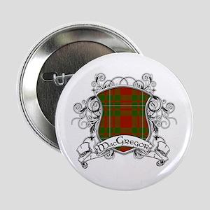 "MacGregor Tartan Shield 2.25"" Button"