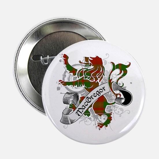 "MacGregor Tartan Lion 2.25"" Button"