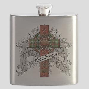 MacGregor Tartan Cross Flask