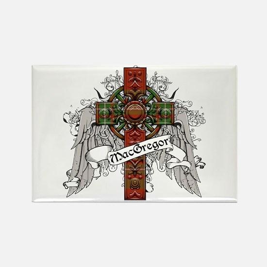 MacGregor Tartan Cross Rectangle Magnet