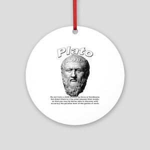 Plato 02 Ornament (Round)