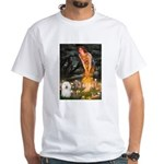 Fairies & Bolognese White T-Shirt
