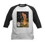 Fairies & Bolognese Kids Baseball Jersey