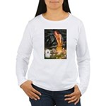 Fairies & Bolognese Women's Long Sleeve T-Shirt
