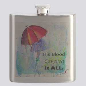 First Red Umbrella Flask