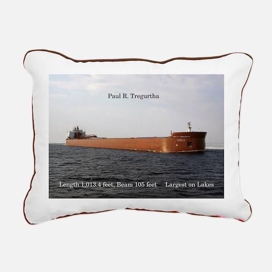 Paul R. Tregurtha Rectangular Canvas Pillow