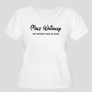 Malt Whiskey Plus Size T-Shirt