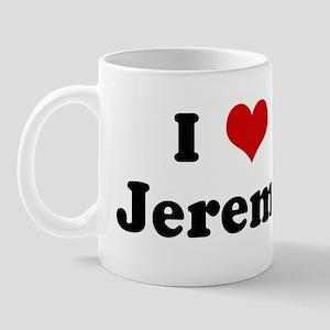 I Love Jeremy Mug