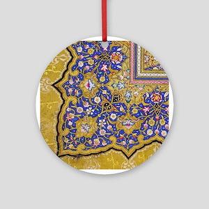 Arabian Floral Pattern Ornament (Round)