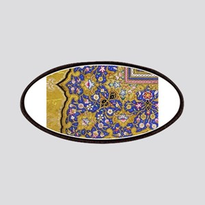 Arabian Floral Pattern Patches