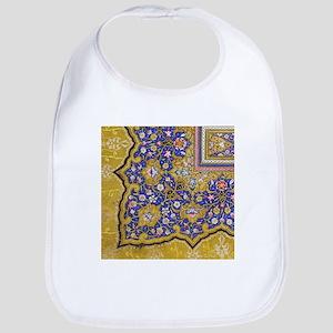 Arabian Floral Pattern Bib
