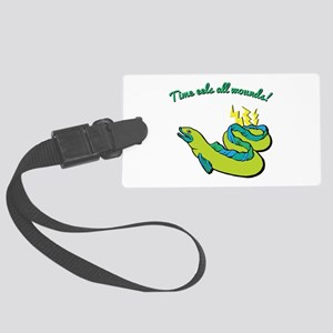 Time Eels Luggage Tag