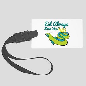 Eel Love You Luggage Tag