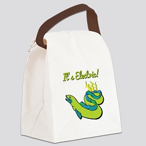 Its Electric Canvas Lunch Bag