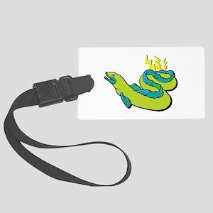 Electric Eel Luggage Tag