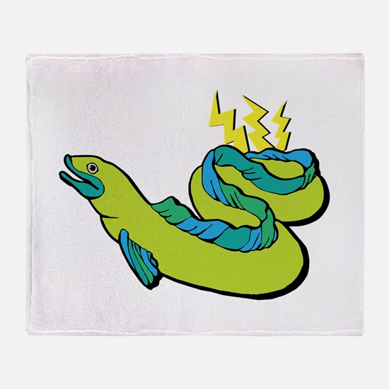 Electric Eel Throw Blanket