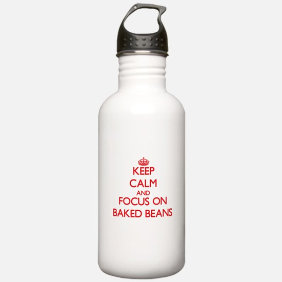 Cute Keep calm and bake on Water Bottle
