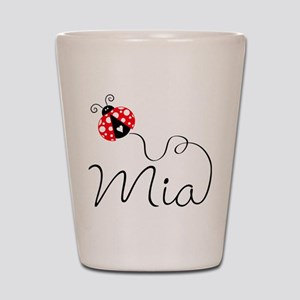 Ladybug Mia Shot Glass