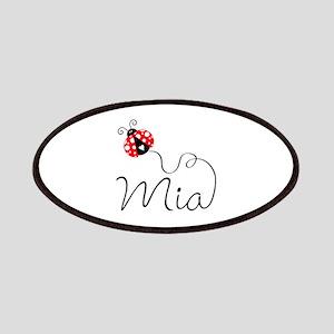 Ladybug Mia Patches