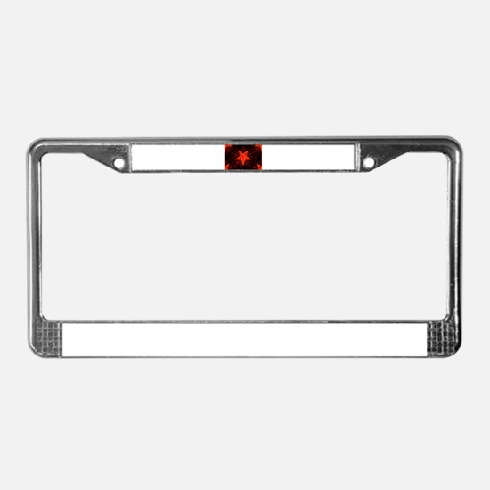 neon demon License Plate Frame
