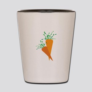 Carrots Shot Glass