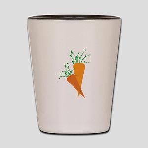 Carrots Shot Glass