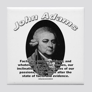 John Adams 01 Tile Coaster
