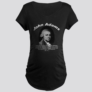 John Adams 01 Maternity Dark T-Shirt