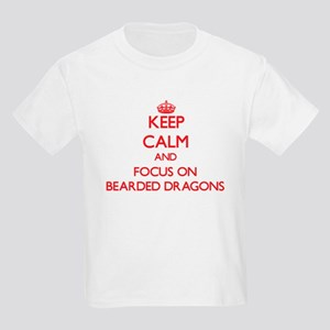Keep Calm and focus on Bearded Dragons T-Shirt