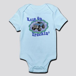 Keep on Truckin' Infant Bodysuit