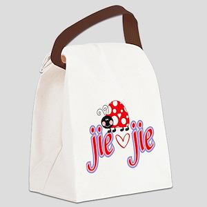 Jie Jie Canvas Lunch Bag