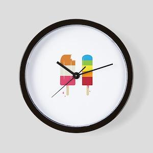 Frozen Popsicle Wall Clock