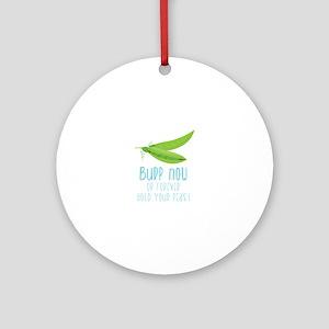 Bupp Now Ornament (Round)