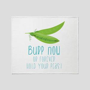 Bupp Now Throw Blanket