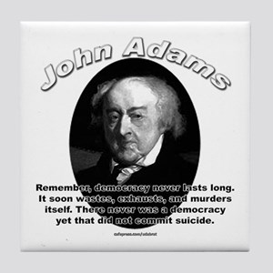 John Adams 02 Tile Coaster