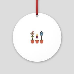 Bird House Garden Ornament (Round)