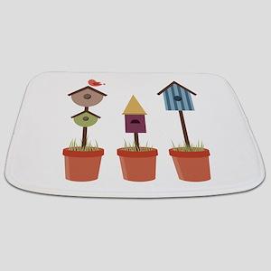 Bird House Garden Bathmat
