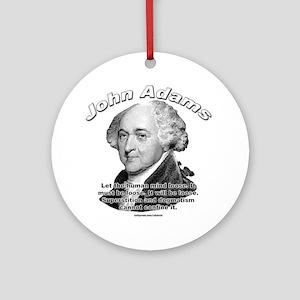 John Adams 03 Ornament (Round)