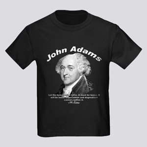 John Adams 03 Kids Dark T-Shirt