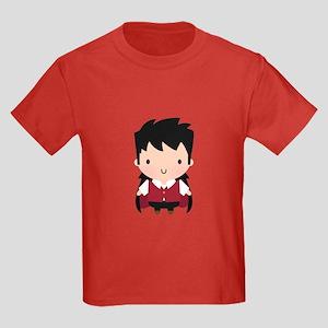 Cute Little Vampire Boy Halloween T-Shirt