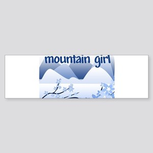 Mountain girl Bumper Sticker