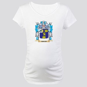 Greer Coat of Arms - Family Crest Maternity T-Shir
