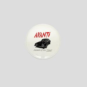 Avanti-Ahead of its Time- Mini Button