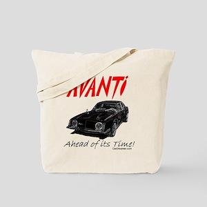 Avanti-Ahead of its Time- Tote Bag