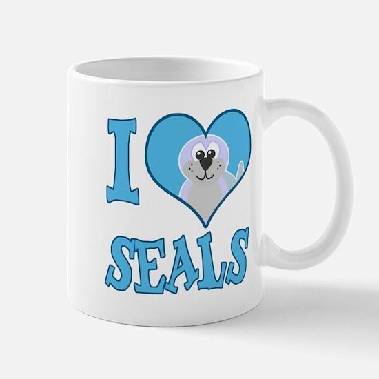 I Love (Heart) Seals Mug