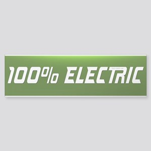 Electric Vehicle Bumper Sticker 100% By Evsticker